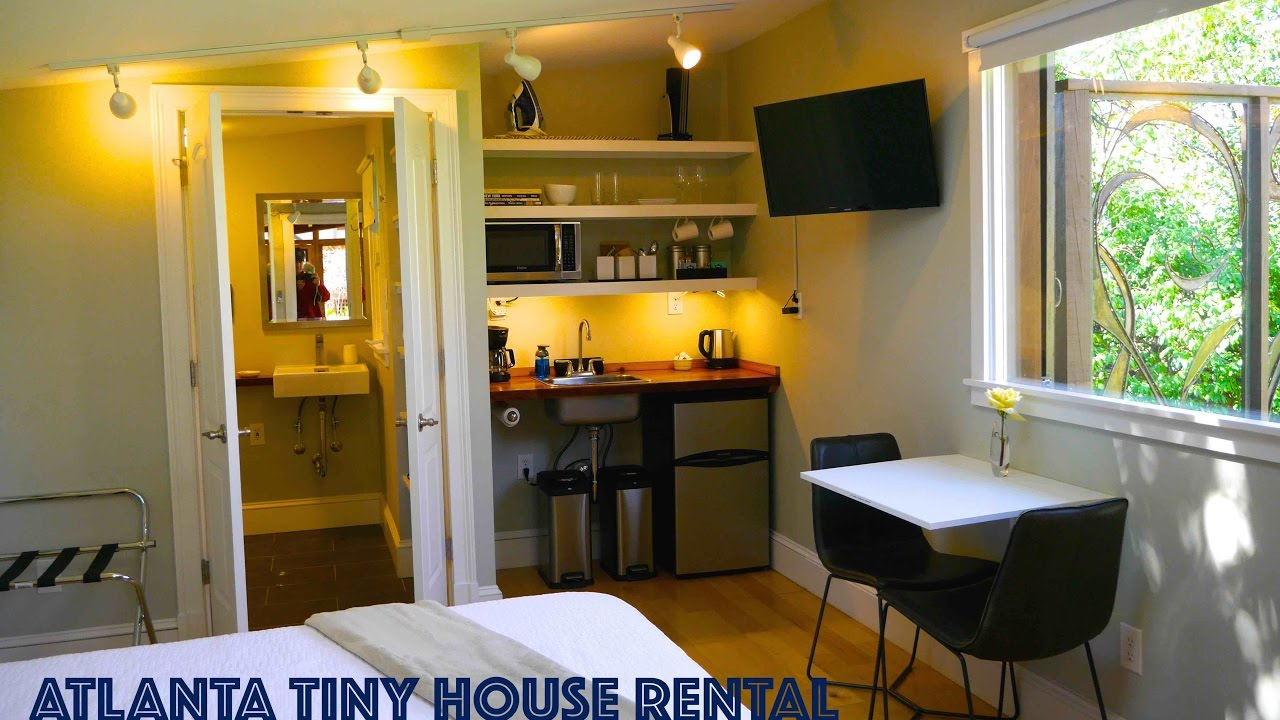 Tiny Urban Cottage In Atlanta You Can Rent This Tiny