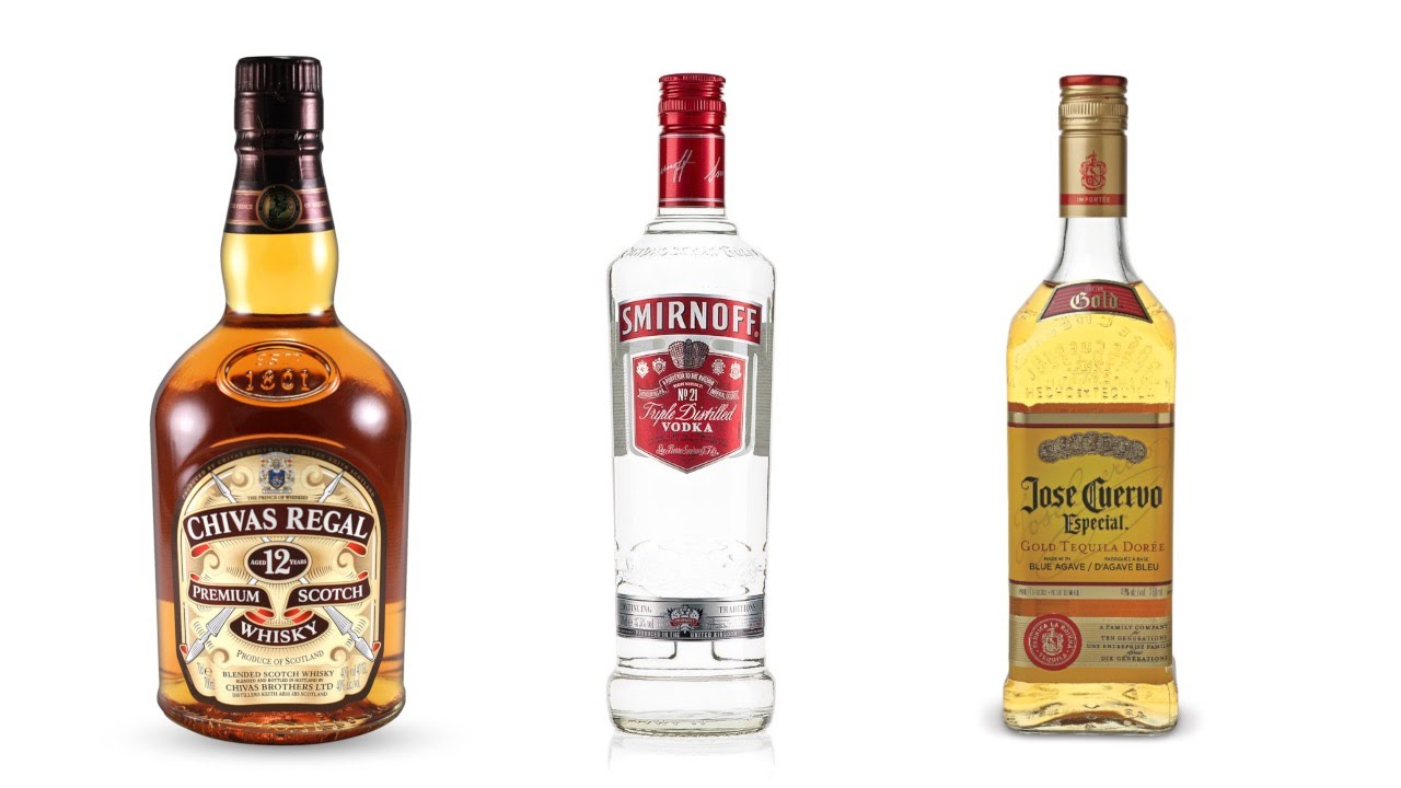 top 10 iconic global liquor brands youtube