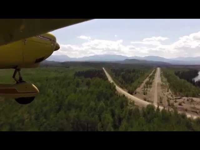 Swannell River Airstrip Overivew