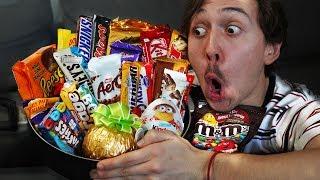 Fusionner tous les chocolats ensemble