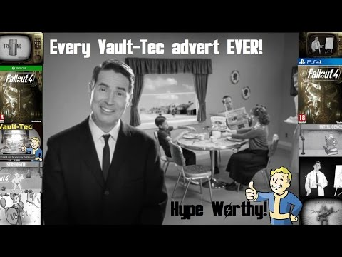 Fallout: All Pre-War ads!