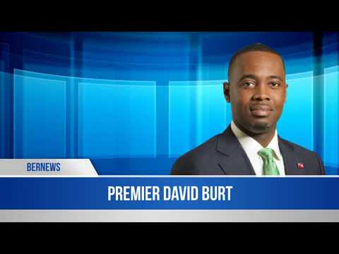 Premier David Burt In The House, May 10 2019