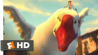 Puss in Boots (2011) - Wild Goose Rampage Scene (9/10) | Movieclips