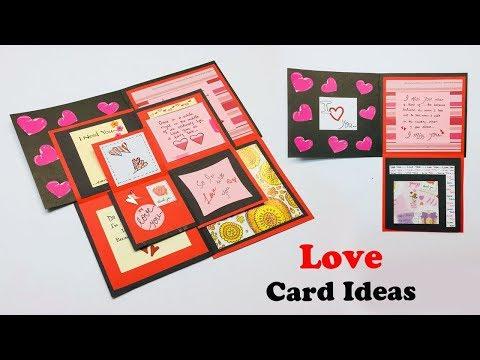 Maze Love Greeting Card | Greeting Cards Latest Design Handmade | I Love You Card Ideas 2019