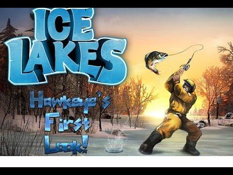 Ice Lakes - Hawkeye's First Look! (Gameplay) - Ice Fishing Simulator