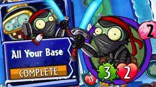 ALL Your Base Impfinity Strategy Deck Plants vs Zombies Heroes Gameplay