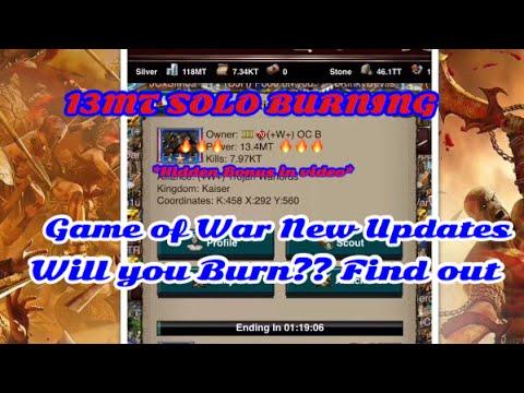 Game of War:New Research/VIP/Hero 130. MT burning