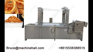 Commercial Automatic Onion Chips Frying Machine Manufacturer Price