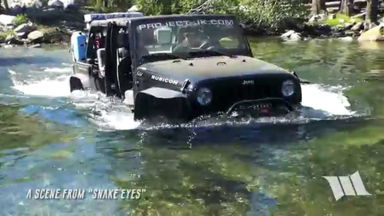 SNAKE EYES Teaser Clip : Water Crossing #1 on the Fordyce Jeep Trail