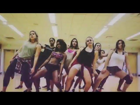 NSU Sharkettes Dance Team 2015-2016 - Drum machine