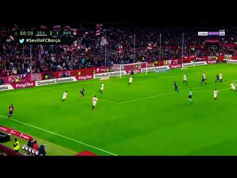 Download Lionel Messi Incredible Last Minute Goal - Barcelona vs Sevilla 2-2 (La Liga 2017/2018)