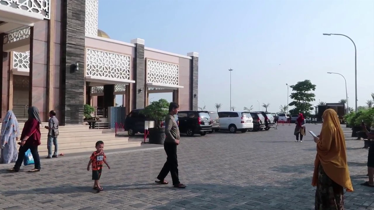 Indahnya Masjid Namira Di Lamongan Youtube