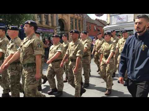 Armed Forces Day Parade - Leicester City Centre 25/06/2016 [4K UHD 2160p]