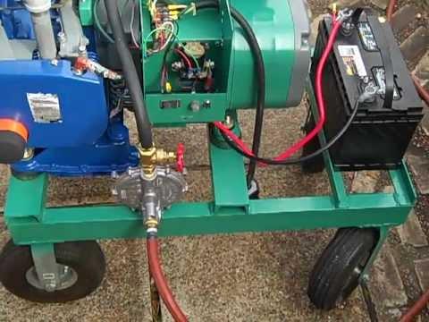 Onan 5kw Generator - YouTube
