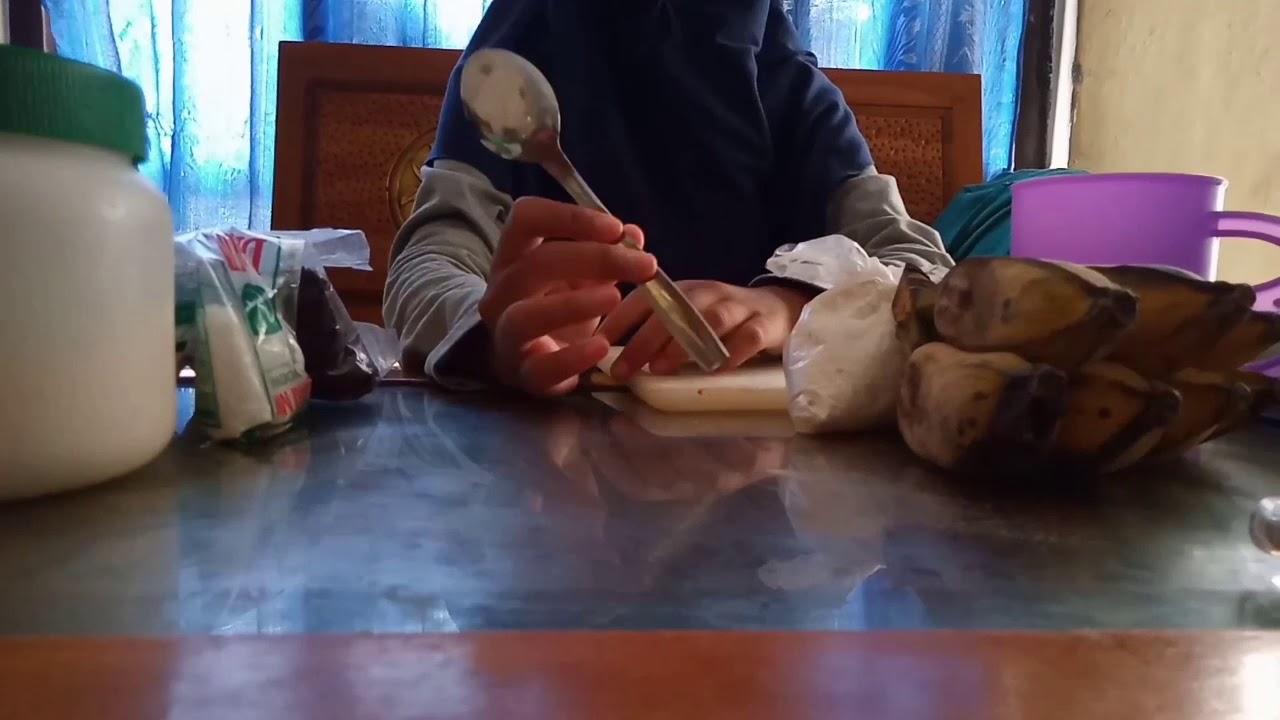 CARA MEMBUAT BANANA CRISPY - YouTube