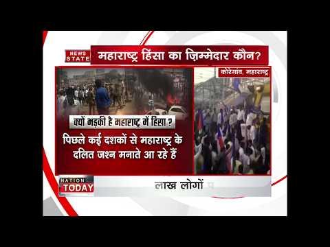 Maharashtra bandh: state on edge after Bhima Koregaon violence protests