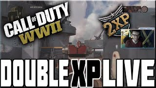DOUBLE XP ON CALL OF DUTY WWII LIVE!