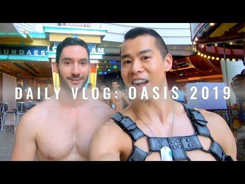 Daily Vlog: Atlantis Oasis 2019 Mediterranean #Gay #Cruise   JustJoeyT #Travel