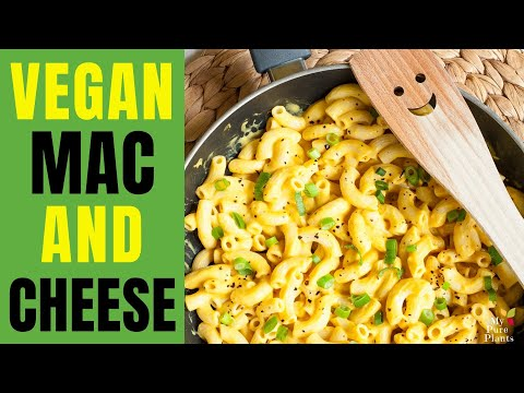 Quick and Easy Vegan Mac and Cheese