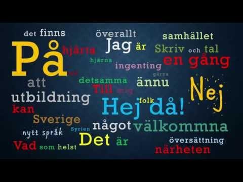 تعليم لغة سويدية مقدمة و الدرس الاول Learn Swedish With Rateb | lesson 1