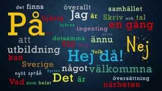 تعليم لغة سويدية مقدمة و الدرس الاول Learn Swedish With Rateb   lesson 1