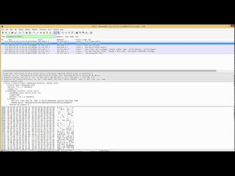 SSL/TLS in action with Wireshark