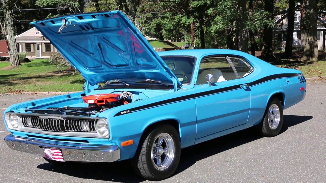1972 Plymouth Duster For Sale~430~Auto~Fully Restored!!! - YouTube