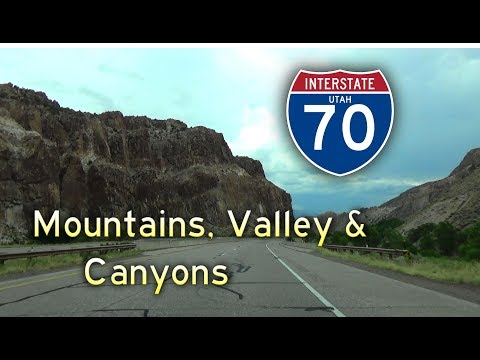Grand Circle Tour II - Ep 5 || Interstate 70 Utah #1: Mountains, Valley, and Canyons