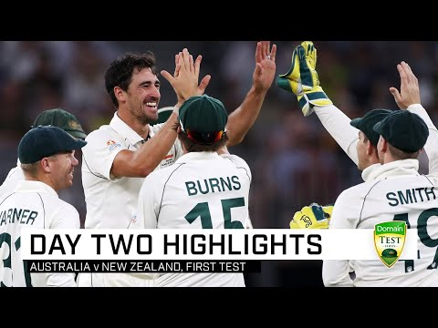 Starc Stars, Hazlewood Hurt, Smith Flies On Dramatic Day | First Domain Test V New Zealand