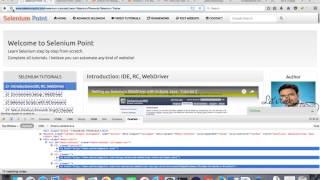 Print all links on webpage using selenium web driver - Tutorial 13