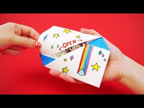 6 EASY AND FUNNY ORIGAMI ENVELOPES | Letter Folding Secrets for Family and Fun