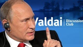 Алекс Джонс: о речи Путина на Валдае, апокалипсисе и сознании россиян