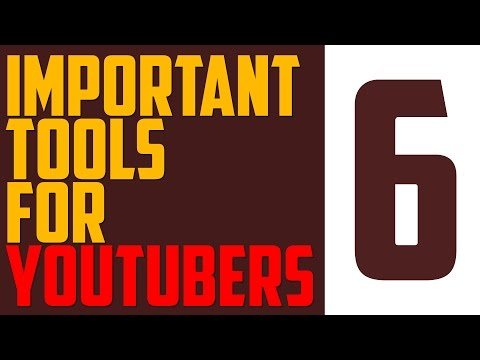 6 IMPORTANT Tools for Every Youtuber | (Epoxy, VidoOly..) - (HD/2016)