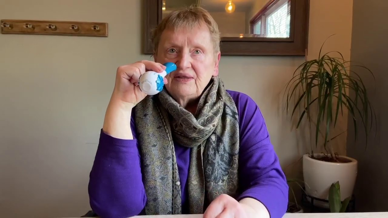The Breather Testimonial for Improved Communication   Respiratory Strength Trainer