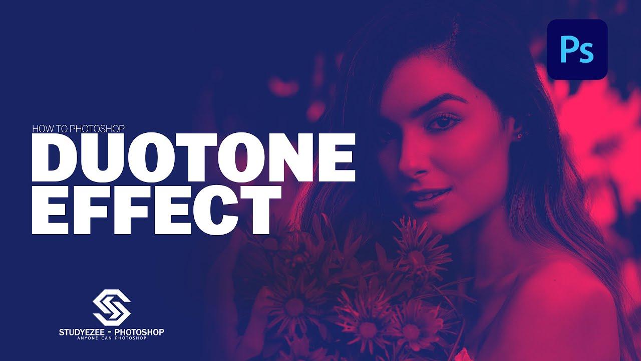 Duotone Effect   how to make duotone effect in photoshop    ड्यूओटोन इफ़ेक्ट   photoshop cc 2021