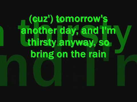 bring on the rain lyrics