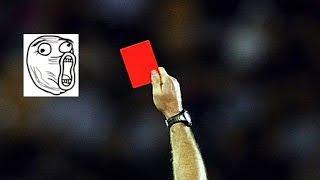 Top 10 des Cartons Rouges Drôles