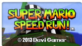 Minecraft 10kSUB Special Super Mario speed Run v1.0