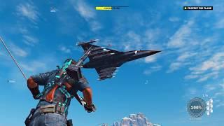 Just Cause 3 #29 - Nhiệm vụ bảo vệ máy bay chở bomb trên trời   ND Gaming