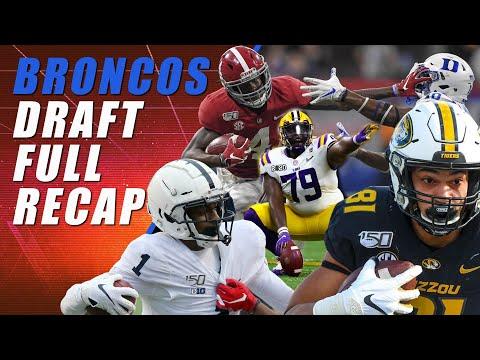 Broncos Draft Recap Bonanza