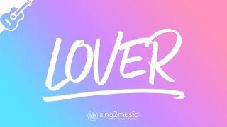 Lover (Acoustic Guitar Karaoke) Taylor Swift