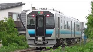 JR五能線 列車4本詰め合わせ 2021.06.03