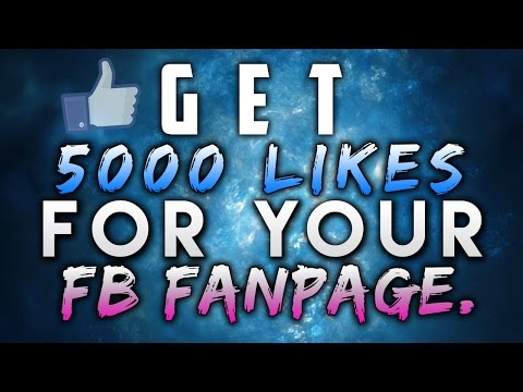 Getting 5000 LIKES to your Facebook Fan Page in a Day! 2016 (NEW TRICK)
