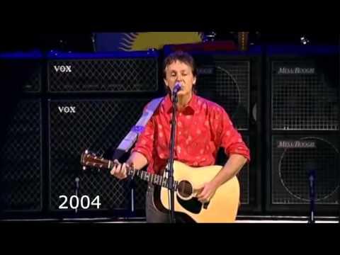 Paul McCartney Vocal Changes ('68, '76, '91, '04, '09, '14) - Blackbird