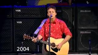 Paul McCartney Vocal Changes ('68, '76, '91, '04, '09, '14) - Blackbird