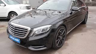 Mercedes-Benz S-klasse VI (W222, C217) 3.0 AT (249 л.c.) 2014