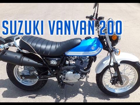 2017 Suzuki Vanvan 200 review - YouTube