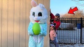 Easter Bunny with giant Egg Surprise Adventure story