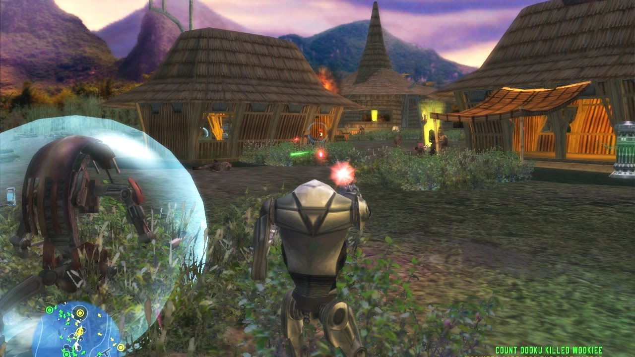 Star Wars Battlefront 1 Gameplay Kashyyyk Islands Clone Wars Mission 3 YouTube
