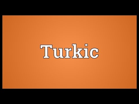 Turkic Meaning